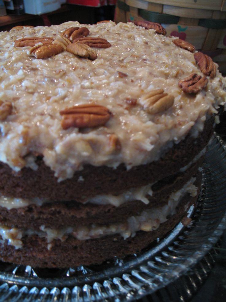 Baker's Original German Sweet Chocolate Cake   Recipe ...
