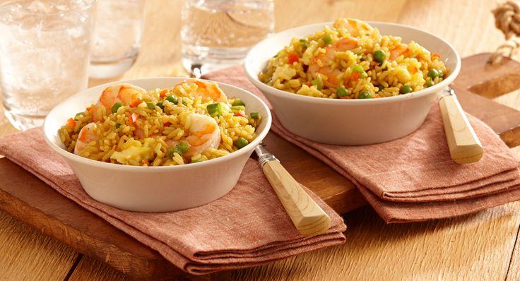 Shrimp Fried Yellow Rice