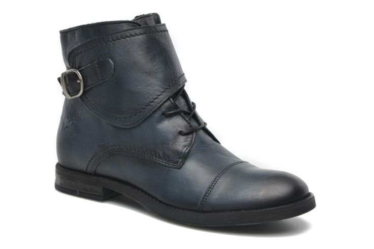 Mustang shoes Ildys (Bleu) - Bottines et boots chez Sarenza (199525)
