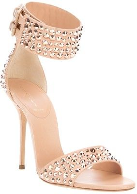 CASADEI studded sandal
