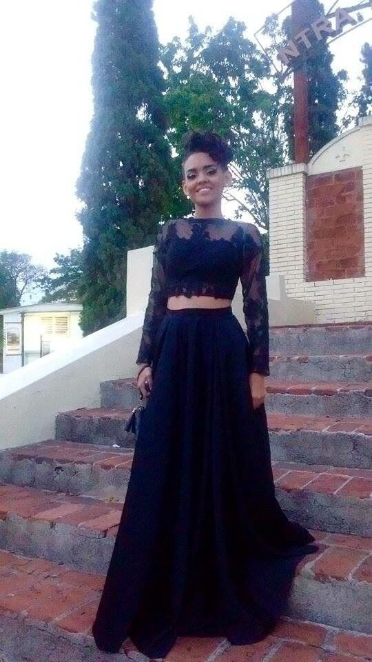 Beautiful dress, good fabric and looks just like the picture. It was a bit too long and... READ MORE ABOUT FNKS Women's Sexy Sheer Lace Long Sleeve Two Piece Prom Dresses Evening Gowns >>>