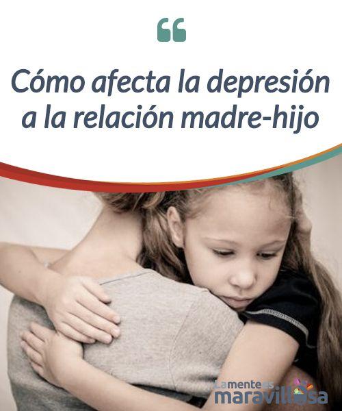 Cómo afecta la depresión a la relación madre-hijo  ¿Sabes cómo afecta la #depresión a la relación #madre e hijo? Los problemas para el pequeño pueden ser #graves, de ahí el interés de este artículo  #Psicología