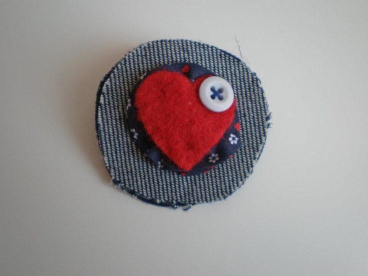 Brooch in love.