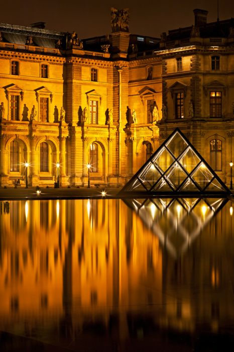 Paris: Musee du Louvre: The Louvre, One Day, Louvre, Museums, Night Lights, Paris France, Du Palace, Louvre Paris, Places