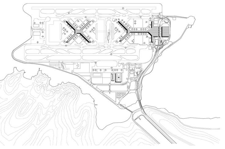 Chek Lap Kok is one of the world's largest and most