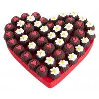 Flower Hearts Çikolata Buketi