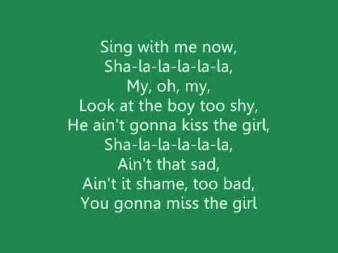 Imagine:  If R5 sang this song to me at an R5 concert. Rydel Rikers sister says kiss the girl Riker Then the crowd cheers.