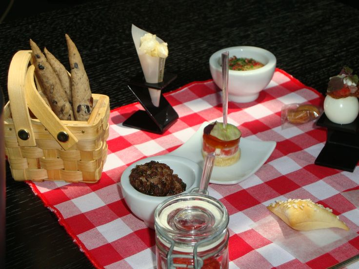 Unforgettable picnic course at 2 Michelin star Funky Gourmet , Athens !  Must visit