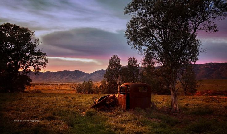Old Wreck - Arkapena Flinders Ranges South Australia