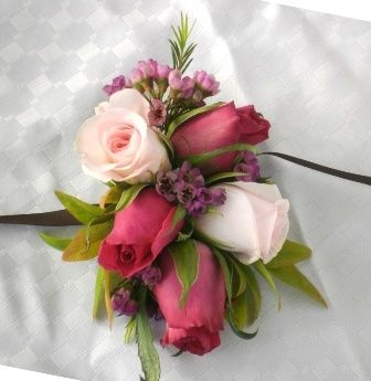 Image result for corsage to go with a red dress