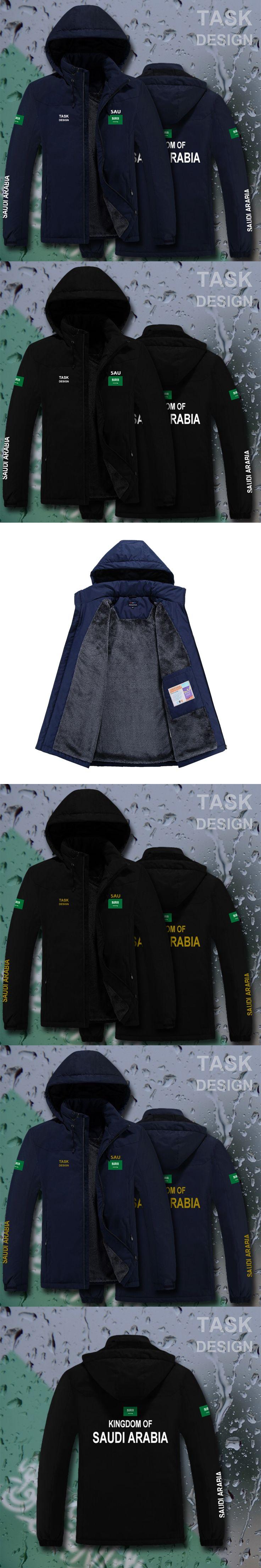 Saudi Arabia Saudi Arabian SA SAU parka men winter jacket mens coat clothing fur hooded snow windbreaker bomber streetwear brand