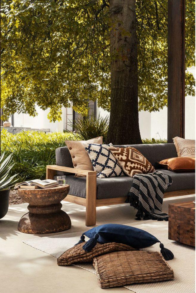 Une terrasse au soleil avec H&M Home