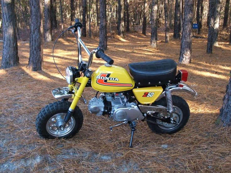 Honda Z50 cool monkeybike Bikes & Cars Pinterest