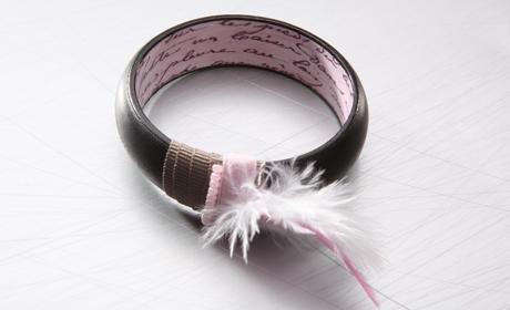 Bracelet - pink letters