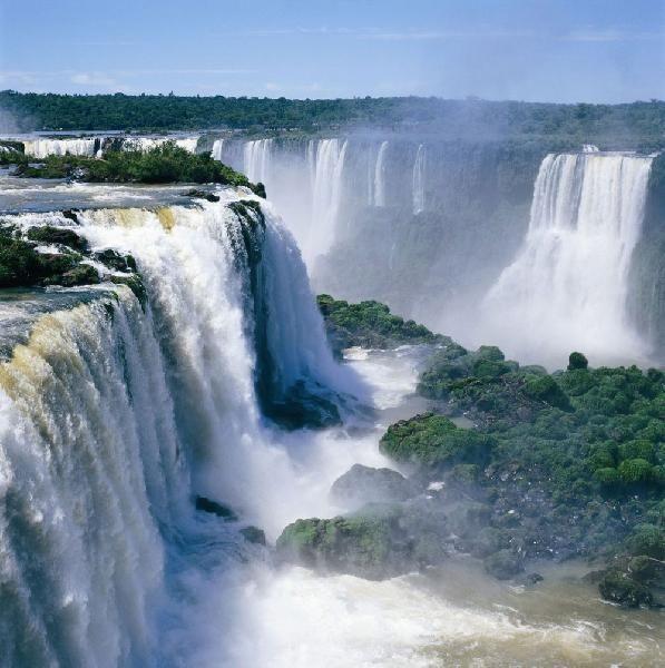 Cataratas do Iguaçu, Estado do Paraná, Brasil