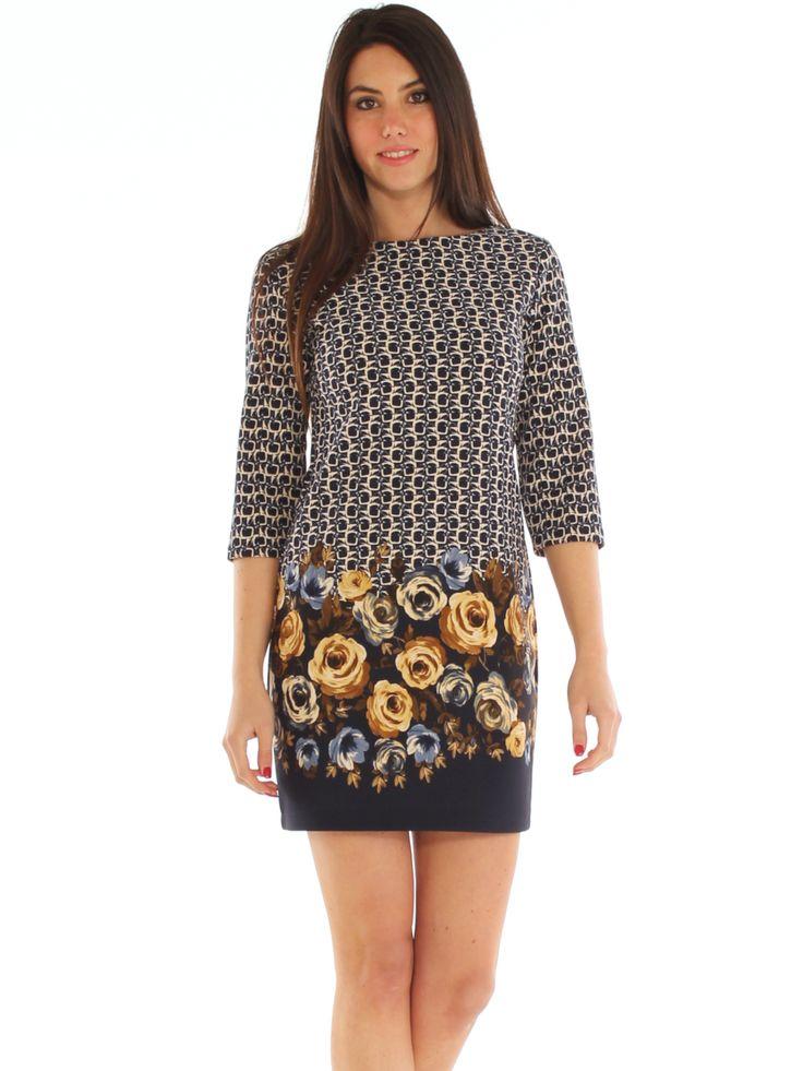 Floral patterned stretch vowen jersey casual short dress http://www.luanaromizi.com/en/dresses-woman/floral-patterned-stretch-vowen-jersey-casual-short-dress.html #Floraldress #patterneddress #stretchdress #jerseydress #casualdress #shortdress #boutique #fashion #madeinitaly