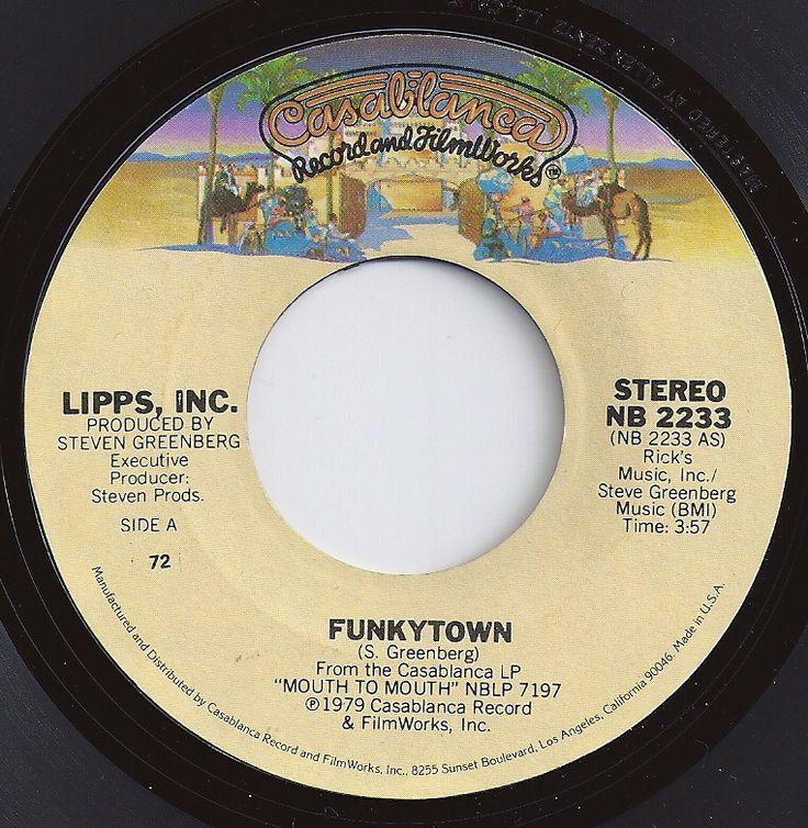 Funkytown / Lipps, Inc. / #1 on Billboard 1980