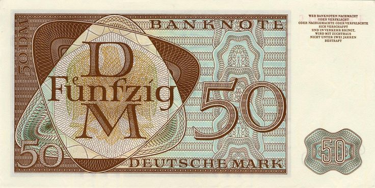Pin auf Deutsche mark