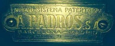 Abrir y reparar su caja fuerte antigua PADROS por WhastApp ¡¡¡ Ya es posible !!! conecte con nuestro telefono 608 605 111 y le pasaremos presupuesto en España