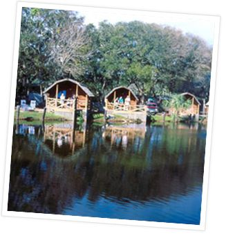 One of my favorite campgrounds is the KOA in St. Augustine, beccause we love St. Augustine.
