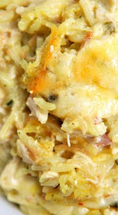 Green Chile Chicken Rice-A-Roni Casserole