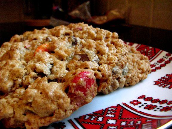 Monster Cookies    Hello new favourite recipe!