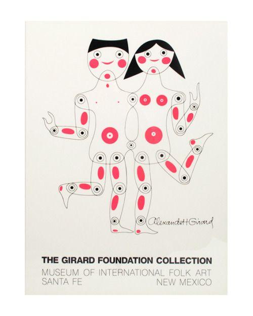 """design-is-fine:  """" Alexander Girard, Poster for the Museum of International Folk Art in Santa Fee, 1960s  """""""