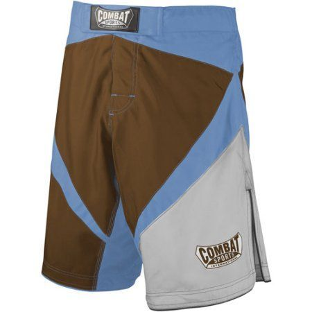 Combat Sports Fight MMA Boardshorts, Size: 36, Brown