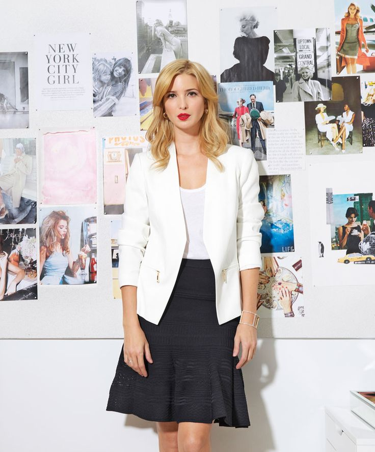 See Ivanka @Work in Marie Claire!