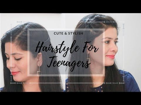 2 coiffures rapides pour l'école / collège - YouTube - # styles #hochschule #schnelle #schule #youtube