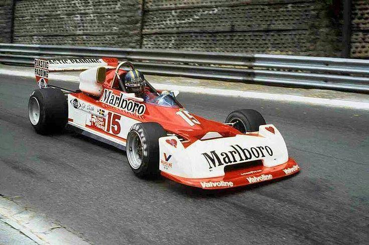 Eje Elgh - Chevron B42 Hart - Fred Opert Racing - XXXVIII Grand Prix Automobile de Pau - 1978 European Championship for F2 Drivers, Round 4