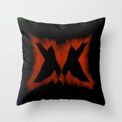 ThePeaceBombs - Sometimes it takes 2 Throw Pillow by ThePeaceBombs - $20.00 #pillows #art #artwork #shopping #home #decor #twins http://society6.com/ThePeaceBombs www.miaaw.com https://www.facebook.com/marishags