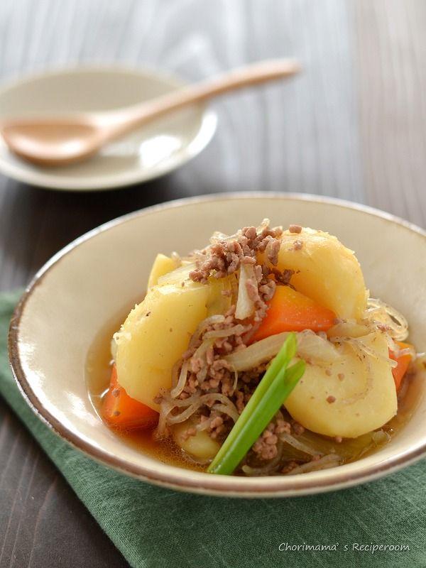 そぼろ肉じゃが by 西山京子/ちょりママ   レシピサイト「Nadia   ナディア」プロの料理を無料で検索