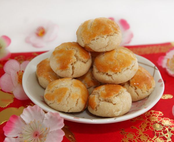 Chinese New Year: Almond cookies, with crunch! | Bread et Butter