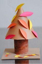 Make Autumn Tree Cones