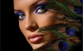 Afbeeldingsresultaat voor peacock makeup