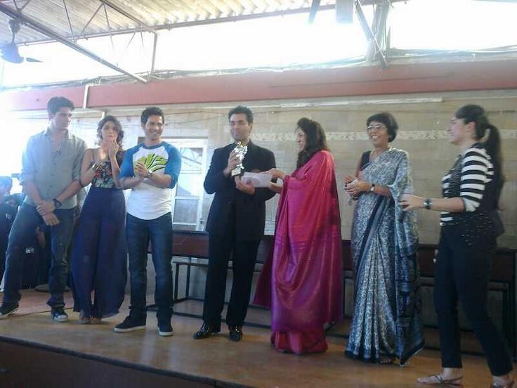 At HR College, Mumbai!