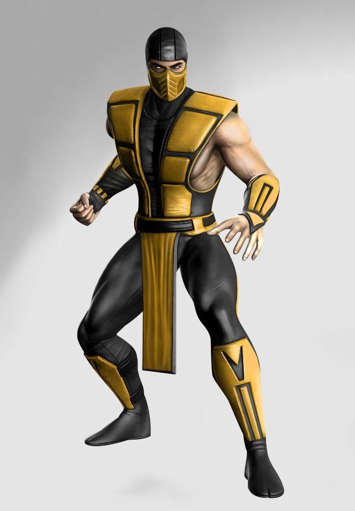 Ultimate Mortal Kombat 3 Klassic Scorpion