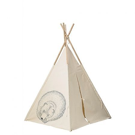 Tipi Tent Slapende Dieren 130x160cm