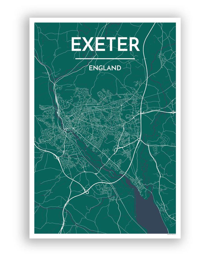 Exeter City Map