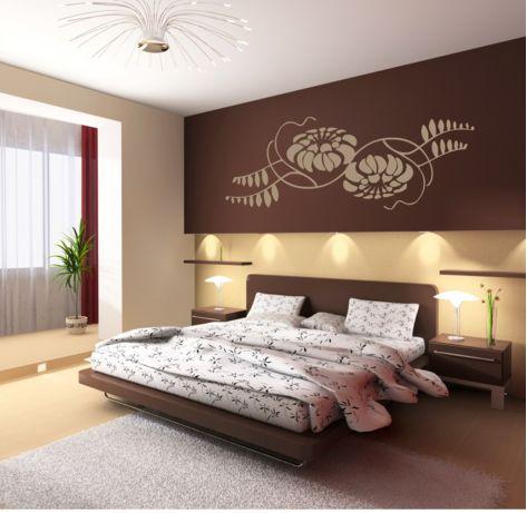 Ideen Schlafzimmer Die Dekoration Der Zimmer Sind Komfortabel Und Beige