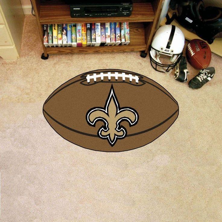 New Orleans Saints Football Mat