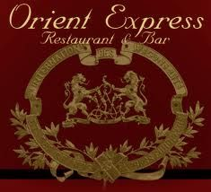 Restaurant et bar de l'Orient Express. Train