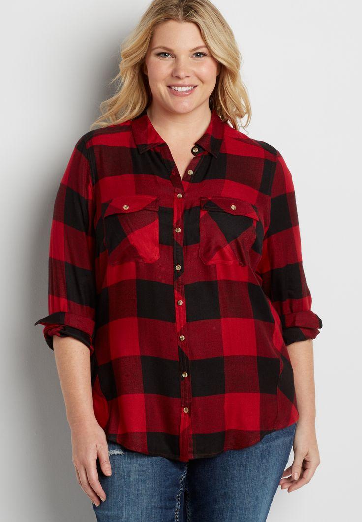 Celebrities who wear, use, or own Buffalo Plaid Red and Black Button-Down Shirt. Also discover the movies, TV shows, and events associated with Buffalo Plaid Red and Black Button-Down Shirt.