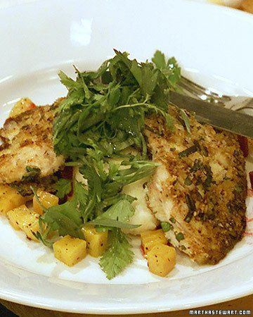 Herb-Crusted Skate