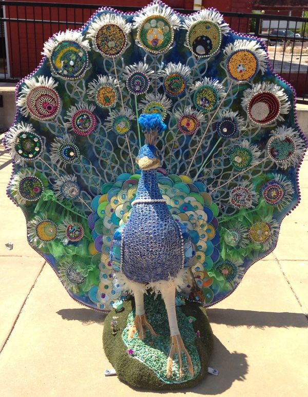 9 Best Peacocks On Parade In Downtown Dalton Images On