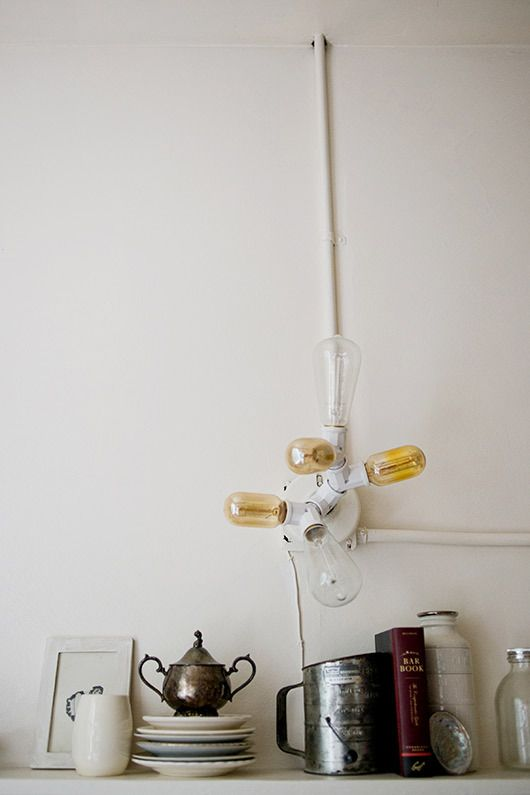 Interior deco / kate davison light fixture