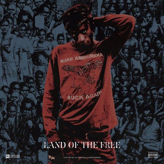 """+++Joey Bada$$ - Land Of The Free+++ Joey Bada$$ scardina i nodi di una visione politica razzista e restauratrice: invertendo la sintassi guerrigliera del gangsta rap, i giovani """"colored"""" ripassano i principi del Movimento per i diritti civili. http://hvsr.net/a/20170122-9882589"""