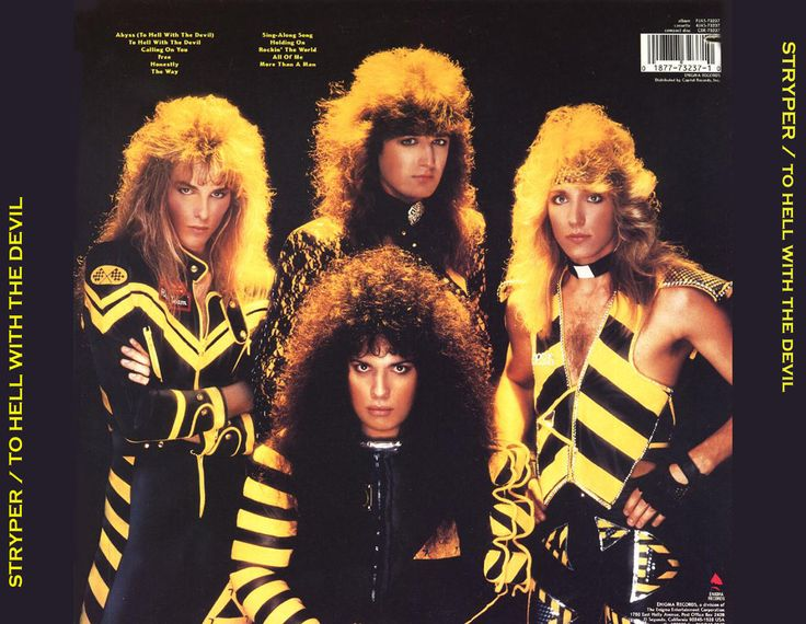 Stryper- 80's Christian Metal(still rockin' for the Rock today!)