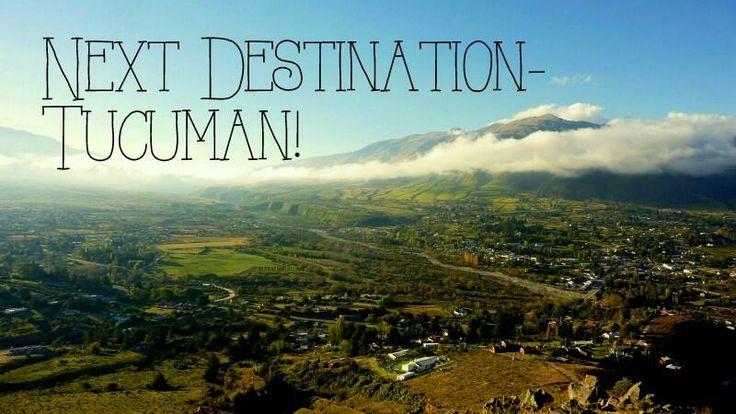 Next stop! #Tucuman #Argentina